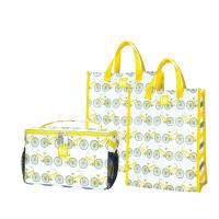 Love Bags Pedal Power Chill Set, 3 in 1 Cooler/Tote Set