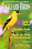 Bird Watcher's Digest An Identification Guide to Common Backyard Birds