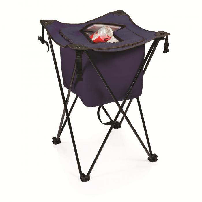 Picnic Time Sidekick Party Cube Cooler, Navy