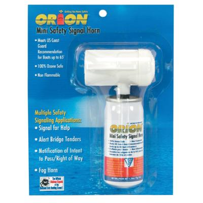 Orion Safety Air Horn Mini 1.5 Oz