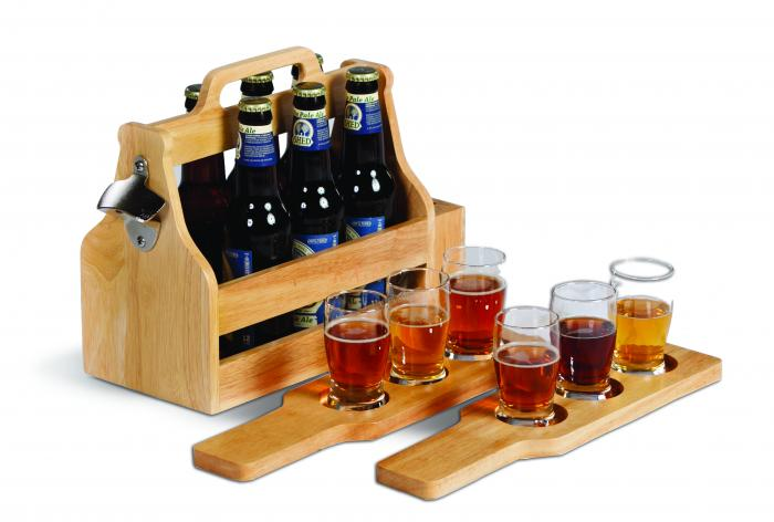 Picnic Plus 6 Pack Craft Beer Carry Set