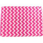 Accellorize 16152 Pink Chevron Ipad Air Case Flips Open And Closes