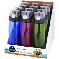 Thermos Intak HP4000D12 Counter Display With 24-oz Tritan Hydration Bottles