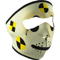 Cold Weather Headwear Neoprene Face Mask, Crash Test Dummy