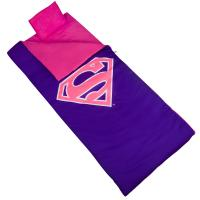 Olive Kids Superman Pink Shield Sleeping Bag