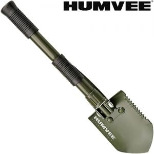 Shovels by Humvee