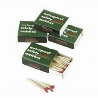 Texsport Waterproof Matches, 4 Boxes