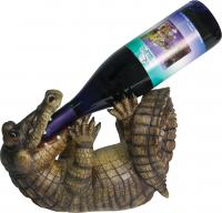 Rivers Edge Products Alligator Wine Bottle Holder