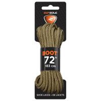 Boot Waxed Lace Brown 72""