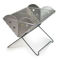 UCO Flatpack Portable Grill & Firepit, Stainless Steel