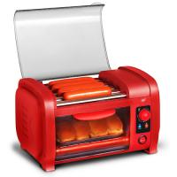 Elite Cuisine Hot Dog Roller/Toaster Oven Red