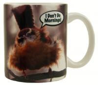 """Songbird Essentials Mug 11oz """"I Don't Do Mornings"""""""