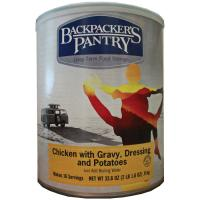 Backpacker's Pantry Chicken W/gravy & Potatoes