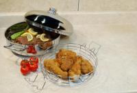 Cookpro Stainless 4Pc 4.5 Qt Cook All Pan Set