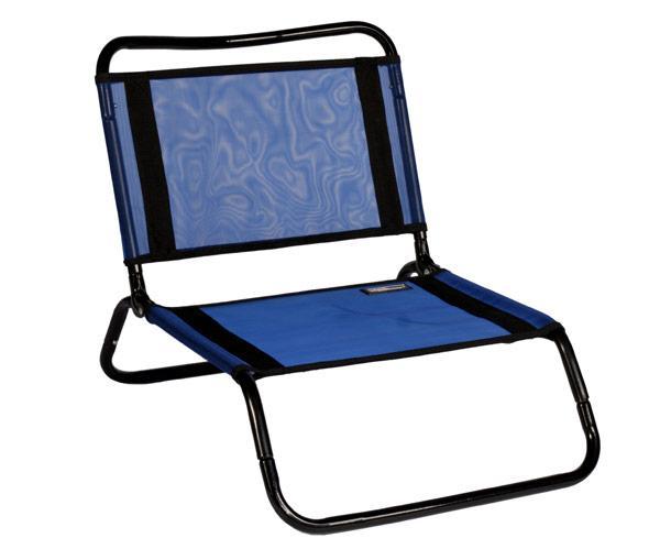 The Original TravelChair- Mesh/Steel El Grande - Blue