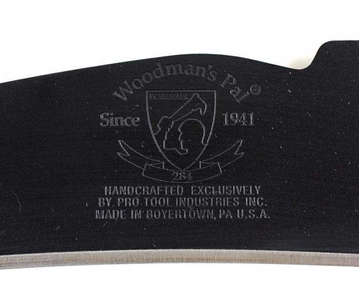 Woodman's Pal Premium Plus Machete with Cordura Sheath and Honing Stone,284-NS