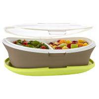 Fit and Fresh Fit & Fresh Gatherings Go Platter with Insulated Carrier
