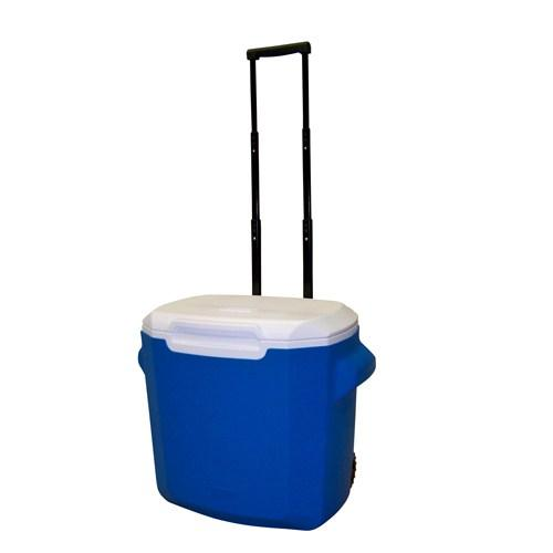 Coleman 28 Qt Wheeled Cooler (Blue)