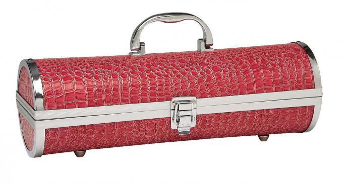 Primeware Gala Croc Wine Carrier, Pink
