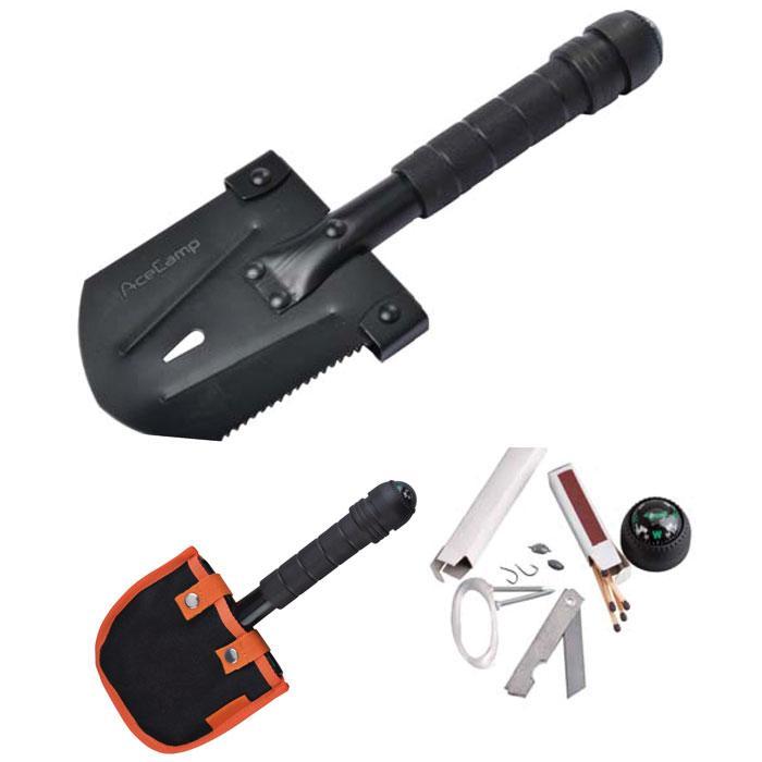 AceCamp Survivor Multi-tool Shovel