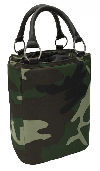 Picnic Gift Bitchin Beer Bag Camo Insulated 6 Bottle