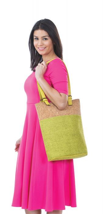 Picnic Plus Luxe Double Wine Bag - Celery