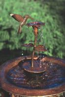 Ancient Graffiti Copper Dripper/Fountain Hbird