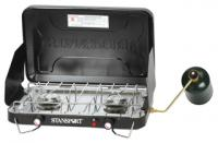 Stansport Two Burner Piezo Stove w/Drip Pan