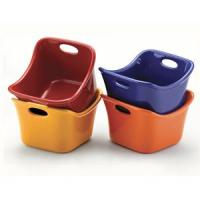 Rachael Ray Set of 4 Square Dipping Cups (Assorted)