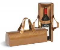 Picnic Plus Carlotta Clutch Wine Bottle Clutch - Copper Swirl