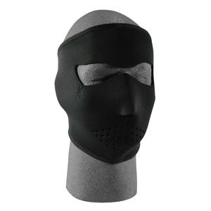 Cold Weather Headwear Neoprene Face Mask, Oversized, Black