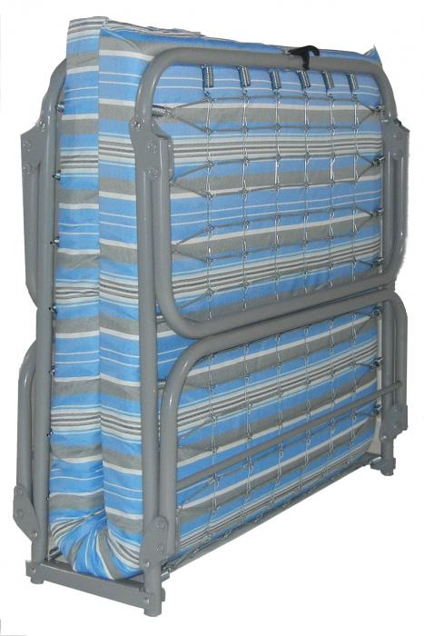 Blantex Heavy-Duty Steel Folding Cot (375 pound capacity)- xk-5