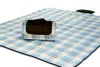 "Mega Mat Folded Picnic Blanket with Shoulder Strap - 48"" x 60"" (Wild Tarragon)"