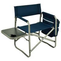 Picnic at Ascot Folding Directors Chair with Table & Removable Cooler - Navy