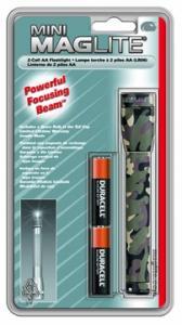 MagLite - AA Mini Mag Camo Flashlight Hanging Pack