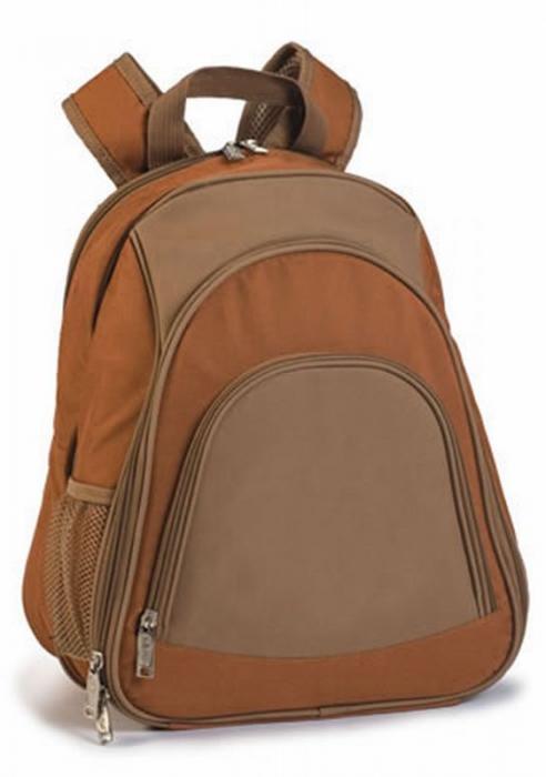 Picnic Plus Fairmount 2-Person Picnic Backpack, Brown