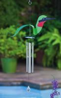 Evergreen Enterprises Birds of a Feather Hummingbird Windchime