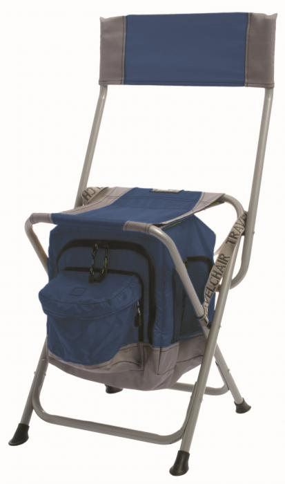 Travel Chair Anywhere Cooler Chair, Blue