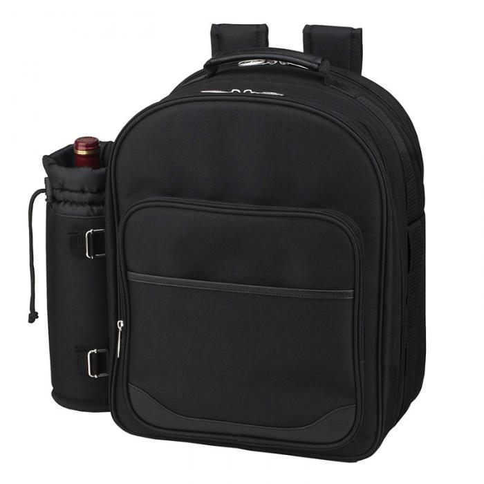 Picnic At Ascot - Four Person Picnic Backpack - Black