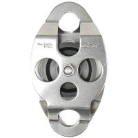 """CMI 2"""" Aluminum Plate Steel Double Ended Pulley"""