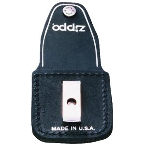 Zippo Leather Pouch w/Clip, Black