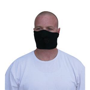 Cold Weather Headwear Facemask, Microfleece, Half Face, Black