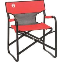 Coleman Portable Deck Chair - Red