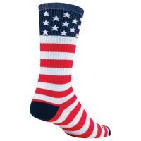 "Usa Flag 6"" Crew Lg/xl"