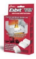 Aloe Gator Esbit Pocket Stove with 6 Fuel Cubes