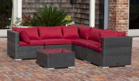 Sino Wicker Outdoor Wicker Sofa Set