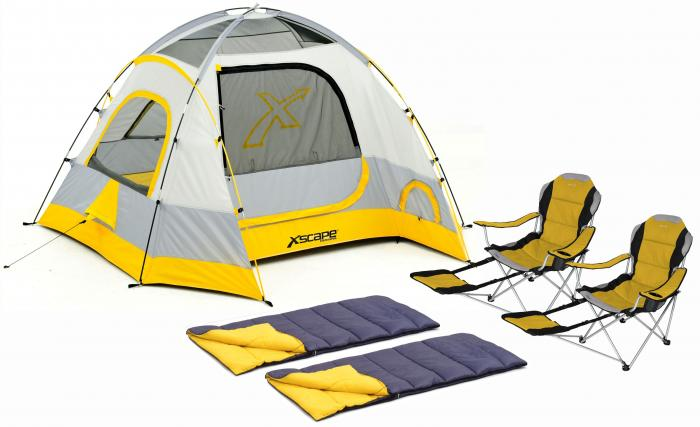 Xscape Designs Vertex 4, Sportline & Sleeping Bag Combo