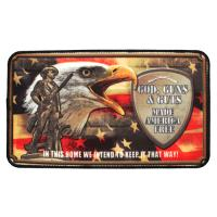 "Rivers Edge Products 18""x30"" Door Mat- God Guns And Guts"
