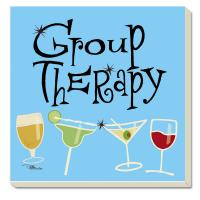 Counter Art Group Therapy Coasters Set of 4