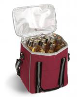 Picnic Plus Vineyard 6 Bottle Cooler - Burgundy
